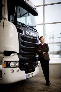 Fredrik Kaldéus, CFO på Scania-Bilar Sverige AB